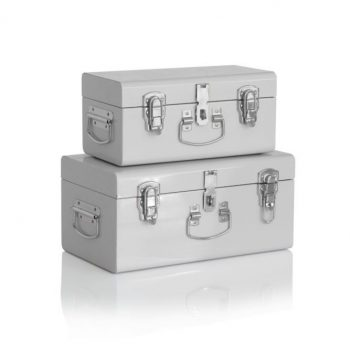Mini Grey Storage Cases