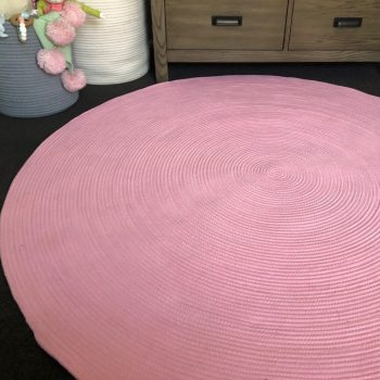 Cotton Rope Rug - Pink